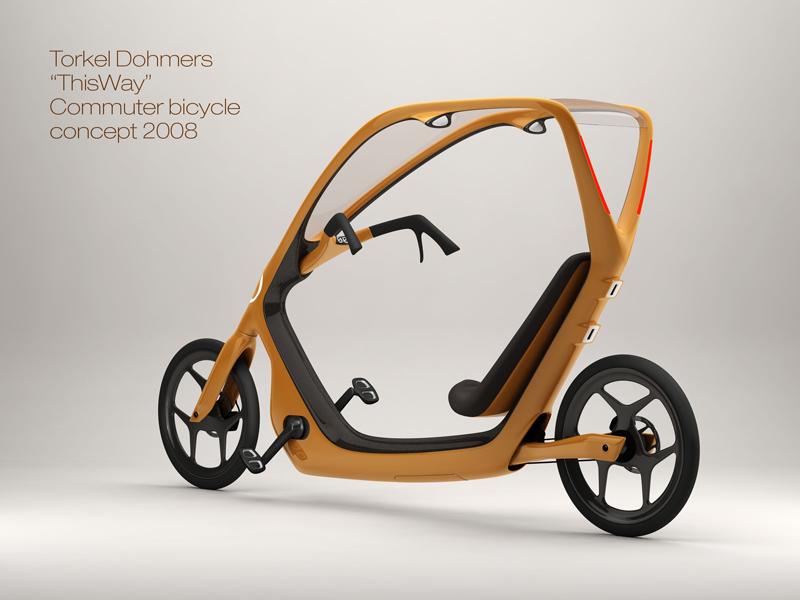 The winning new commuter bike design at Bicycle Design.