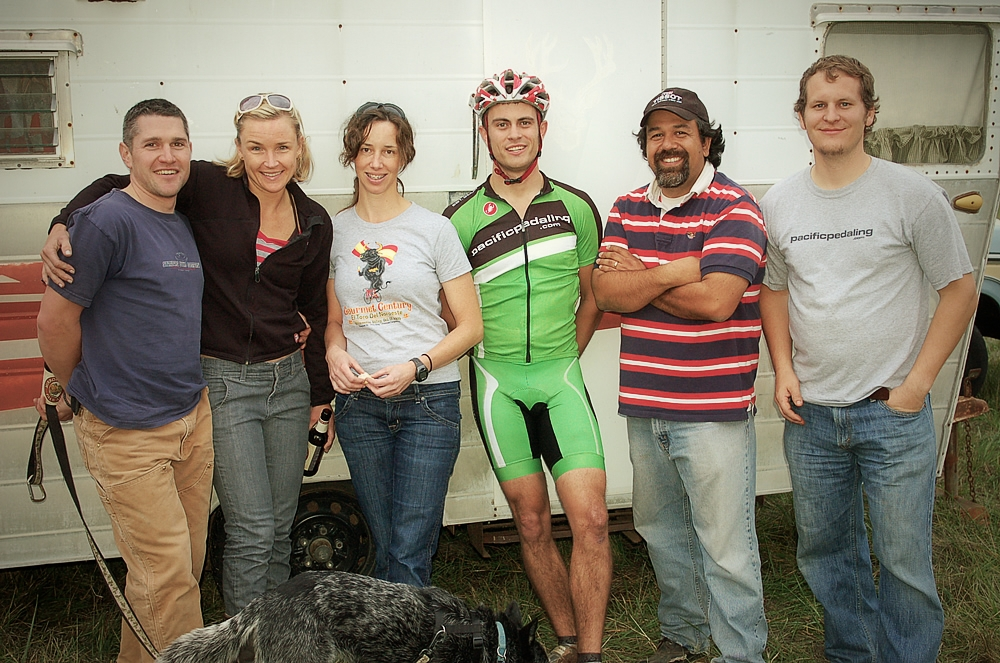 2009 Pacific Pedaling riders after a tough course. Seriously, the best team a sponsor could ask for.